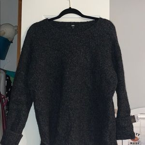Uniqlo Sweaters - Dark Grey Uniqlo sweater